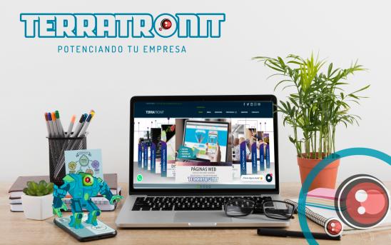 Terratronit te ayuda a potenciar tu marca mediante medios digitales.